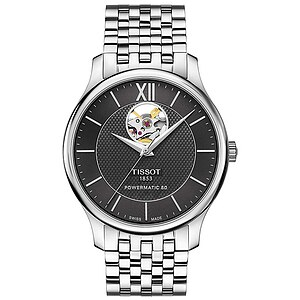 Tissot T063.907.11.058.00 T-Classic Uhren-Serie Tissot Tradition Automatic Open Heart