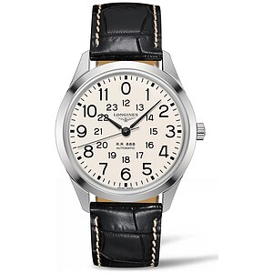 Longines L2.803.4.23.0  der Uhren-Serie - The Longines RailRoad Herren-Automatikuhr der Heritage Collection - 58013