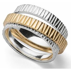 Bastian 12850 Inverun Silber Ring matt/poliert - 56