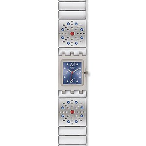 Swatch SUBM 117 G Uhr Artful Ways Square Sparkling Miracles - 59164