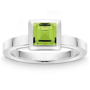 Quinn 021 810647 Colors Silber Ring mit Peridot - 59356