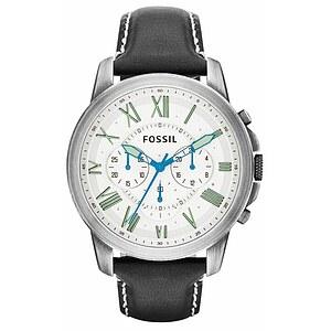 Fossil FS 4921 / FS4921 Herrenchronograph mit 24 Stundenanzeige