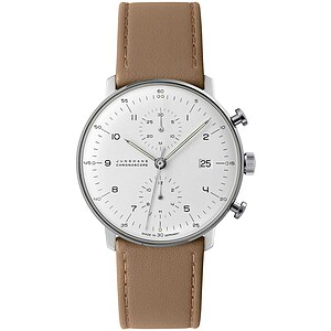 Junghans Uhren-Kollektion 027/4502.04 max bill Chronoscope - 59725