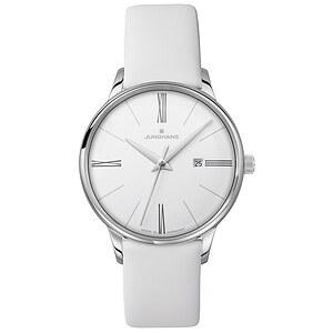 Junghans Uhren 047/4569.00 Damen Meister weiß