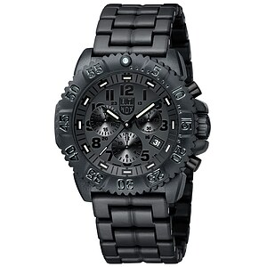 Luminox Uhren 3082.BO Blackout Chronograph Sea Colormark 3080 Series - 59873