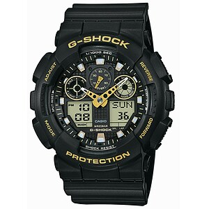 Casio Uhren G-Shock GA-100GBX-1A9ER