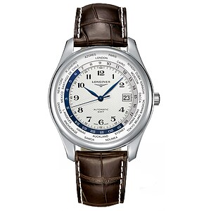 Longines L2.802.4.70.3 Uhren Master Collection GMT Automatik - 63006