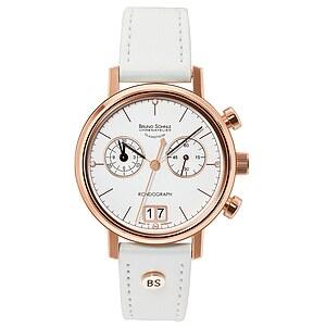 Bruno Söhnle Glashütte Uhren-Serie 17-53172-291 Damenchronograph Rondograph Lady
