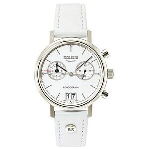 Bruno Söhnle Glashütte Uhren-Serie 17-13172-291 Damenchronograph Rondograph Lady