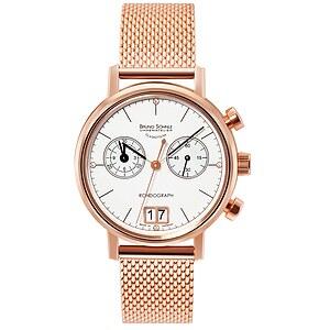 Bruno Söhnle Glashütte Uhren-Serie 17-53172-290 Damenchronograph Rondograph Lady