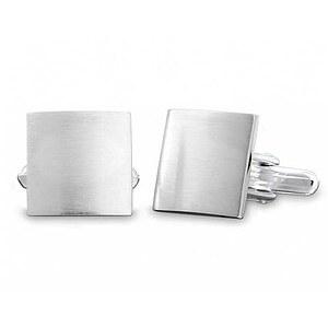 Quinn 001 1420 Manschettenknöpfe in 925 Silber