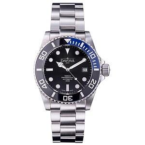 Davosa 161.559.45 aus der Uhren-Serie Ternos Automatic Professional TT schwarz/blau
