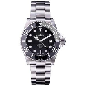 Davosa 161.559.95 aus der Uhren-Serie Ternos Automatic Professional TT schwarz/grau