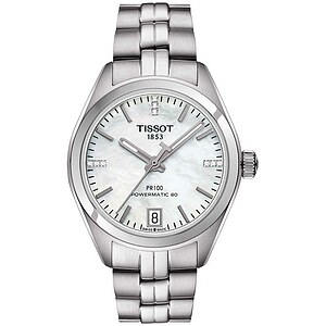 Tissot T101.207.11.116.00 T-Classic Damenuhr der Uhren-Serie PR 100