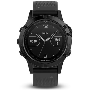 Garmin fenix 5 Saphir Schwarz Performer Bundle Multisport GPS Smartwatch - Garmin 010-01688-32 - Verfügbarkeit: April 2017 - 63313