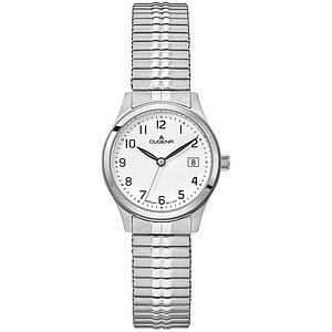 Dugena Bari Zugband aus der Uhrenserie Basic Damenarmbanduhr 4460756 Zugband