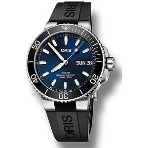 Oris Aquis Big Day Date 752 7733 4135 KB schwarz aus der Oris Uhren Serie Aquis