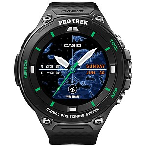 Casio Pro Trek Smart WSD-F20X-BKAAE Smart Outdoor Watch der Casio PRO TREK Serie Edition Schwarz/Grün - 63589