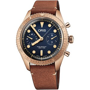 Oris Carl Brashear Chronograph Limited Edition 771 7744 3185 Set LS der Uhren-Serie Oris Divers Sixty Five - 63591