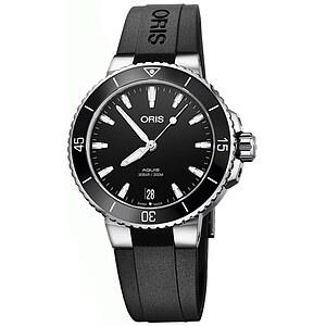 Oris Aquis Date 733 7731 4154 KB schwarz aus der Oris Uhren Serie Aquis