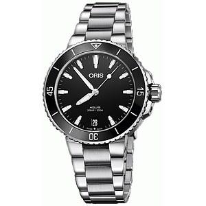 Oris Aquis Date 733 7731 4154 MB schwarz aus der Oris Uhren Serie Aquis