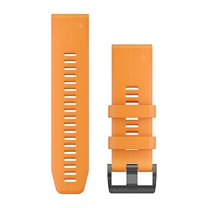Garmin QuickFit Silikon Armband orange 010-12741-03 für fenix 5X PLUS - 63706