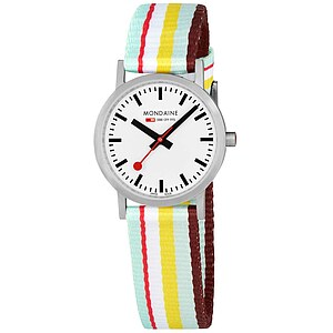 Mondaine Official Swiss Railways Classic A658.30323.16SBK Bahnhofsuhr New Classic Ladies brushed - 63782