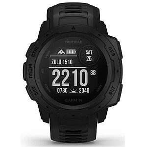 Garmin Instinct - Tactical Edition 010-02064-70 Outdoor GPS Smartwatch - Garmin Instinct Tactical Edition - 63805