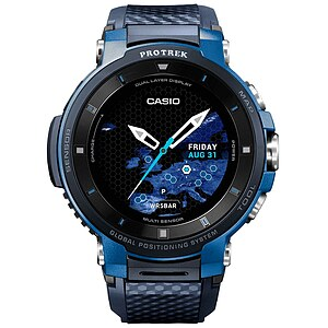 Casio Pro Trek Smart WSD-F30-BU Smart Outdoor Watch der Casio PRO TREK Serie Edition Blau - 65028