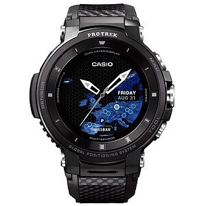 Casio Pro Trek Smart WSD-F30-BK Smart Outdoor Watch der Casio PRO TREK Serie Edition Schwarz - 65029