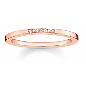 Thomas Sabo D_TR0005-923-14 GLAM & SOUL Silver rosé Ring Diamonds Pavé weiß - 66017