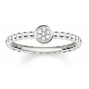 Thomas Sabo D_TR0004-725-14 GLAM & SOUL Silver Ring Diamonds Pavé weiß - 66019