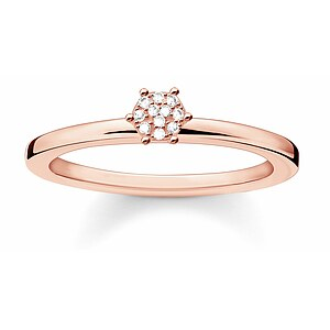 Thomas Sabo  D_TR0012-923-14 GLAM & SOUL Silver rosé Ring Diamonds Pavé weiß - 66026