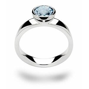 Bastian 12112 Inverun Silber Ring Blautopas
