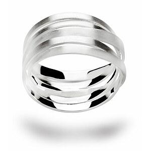 Bastian 12183 Inverun Silber Ring mattiert