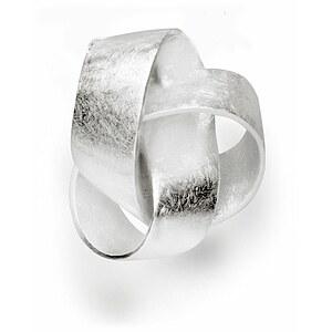 Bastian 10972 Inverun Silber Anhänger Kleiner Knoten kratzmatt
