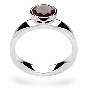 Bastian 12109 Inverun Silber Ring Granat