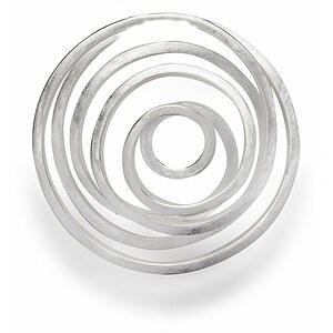 Bastian 12486 Inverun Pendant Silber Anhänger gebürstet