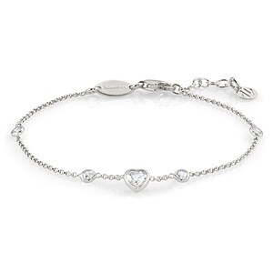 Nomination Bella Brilliant Edition Armkette 142681 001 in Silber - 66447