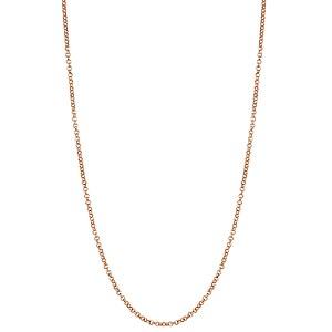 Nomination Halsschmuck MyPendantes 146522 008 Erbskette in 925er Silber roségoldfarben plattiert
