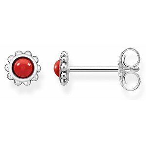 Thomas Sabo H1961-111-10 GLAM & SOUL Silver Ohrstecker Ethno Rot - 66591