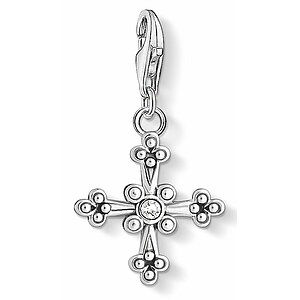 Thomas Sabo CC 1480-643-14 Anhänger Cross CHARM CLUB Ikonisches Ornament Kreuz - 66666