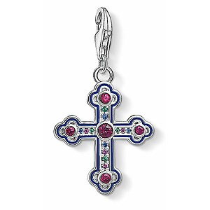 Thomas Sabo CC 1496-391-7 Anhänger Cross Charm Club Ikonisches Ornament Kreuz - 66743