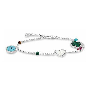 Thomas Sabo A1763-479-7 GLAM & SOUL Silver RIVIERA COLOURS Armband 19 cm - 66771