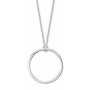 Thomas Sabo X0252-001-21-L70 CHARM CLUB Charm-Kette Kreis Silber 70 cm