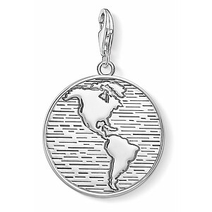 Thomas Sabo CC 1713-637-21 Anhänger World CHARM CLUB Coin Welt - 66974