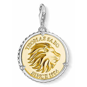 Thomas Sabo CC 1697-966-39 Anhänger Disc Lion CHARM CLUB Coin Löwe - 66990