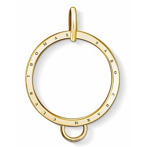 Thomas Sabo X0266-413-39  Charm-Träger Carrier Kreis golden - 66996