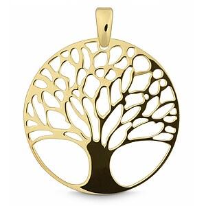 Quinn 024012007 Silber Anhänger golden Tree_of_life
