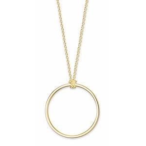 Thomas Sabo X0252-413-39-L70 CHARM CLUB Silber Charm-Kette Kreis golden 70 cm